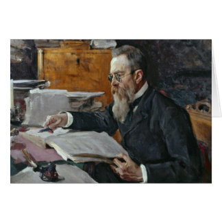 Cartes Portrait de Nikolai Andreyevich Rimsky-Korsakov
