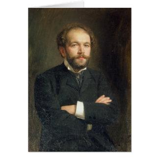 Cartes Portrait de Nikolai Karlovich Medtner 1906