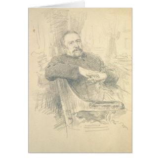 Cartes Portrait de Nikolaj Leskov, 1889