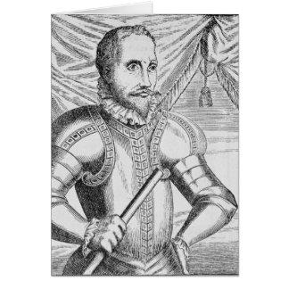 Cartes Portrait de Pedro de Valdibia