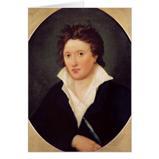 Cartes Portrait de Percy Bysshe Shelley, 1819