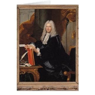 Cartes Portrait de Philibert Orry