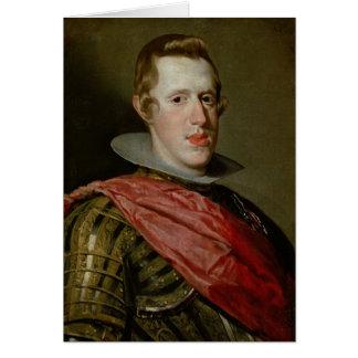 Cartes Portrait de Philip IV dans l'armure, 1628