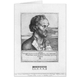 Cartes Portrait de Philipp Melanchthon, 1526
