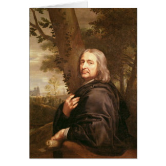 Cartes Portrait de Philippe de Champaigne, 1668