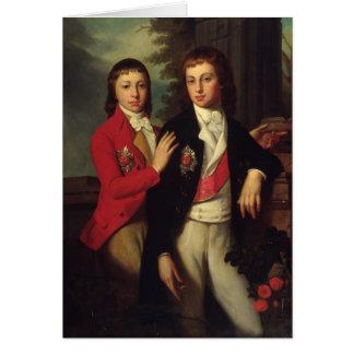 Cartes Portrait de prince grand août d'Oldenbourg