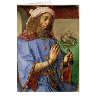 Cartes Portrait de Ptolémée, c.1475