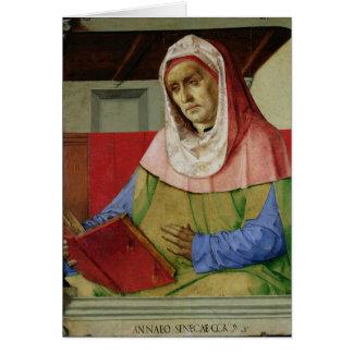 Cartes Portrait de Sénèque c.1475