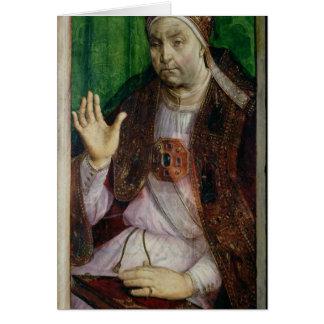 Cartes Portrait de Sixtus IV c.1475
