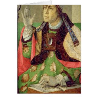 Cartes Portrait de St Augustine, c.1475