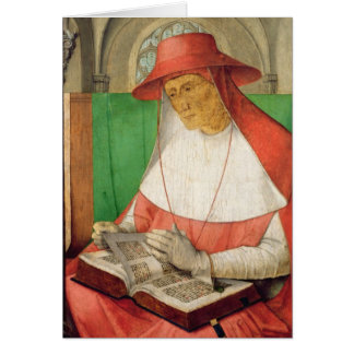 Cartes Portrait de St Jerome c.1475