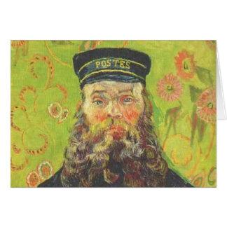 Cartes portrait de Van Gogh du roulin de Joseph de