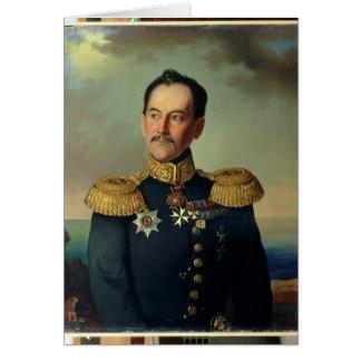 Cartes Portrait de vice-amiral d'escadre Nikolai