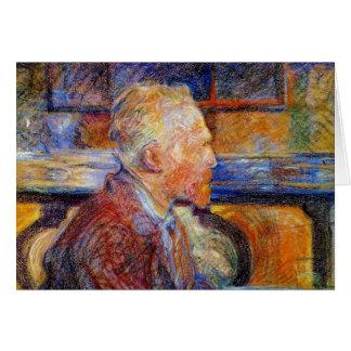 Cartes Portrait de Vincent van Gogh