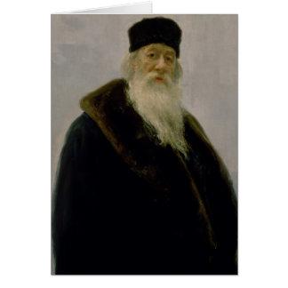 Cartes Portrait de Vladimir Vasil'evich Stasov 1900