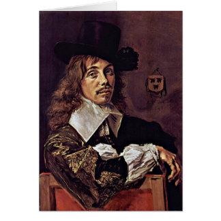 Cartes Portrait de Willem Coymans. Par Frans Hals