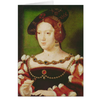 Cartes Portrait d'Eleanor de Hapsbourg