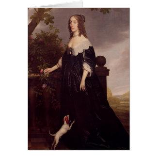 Cartes Portrait d'Elizabeth, reine de la Bohême