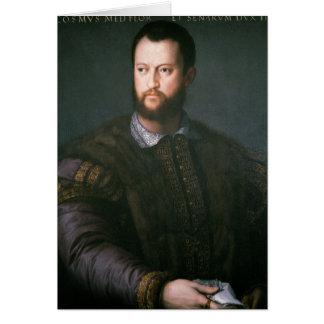 Cartes Portrait de'Medici de Cosimo I, XVIème siècle