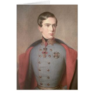 Cartes Portrait d'empereur Franz Joseph de l'Autriche