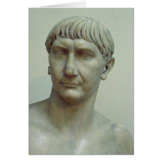 Cartes Portrait d'empereur Trajan