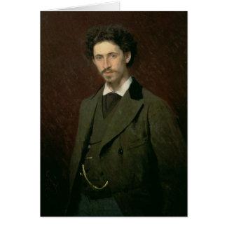 Cartes Portrait d'Ilya Efimovich Repin, 1876