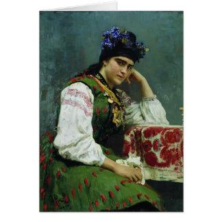 Cartes Portrait d'Ilya Repin- de Sophia Dragomirova