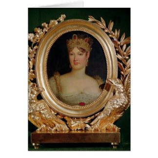 Cartes Portrait d'impératrice Marie-Louise de l'Autriche