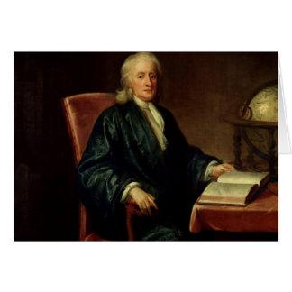 Cartes Portrait d'Isaac Newton, c.1726