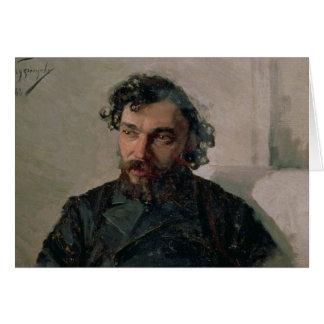 Cartes Portrait d'Ivan Pochitonov, 1882