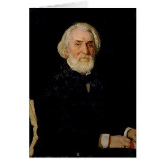 Cartes Portrait d'Ivan S. Turgenev, 1879