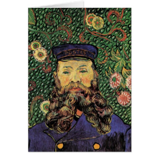 Cartes Portrait du facteur Joseph Roulin par Van Gogh