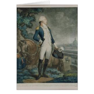Cartes Portrait du marquis de La Fayette