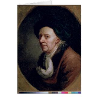 Cartes Portrait du mathématicien Léonard Euler