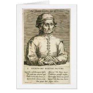 Cartes Portrait du plat 3 de Hieronymus Bosch