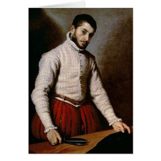 Cartes Portrait d'un homme c.1570
