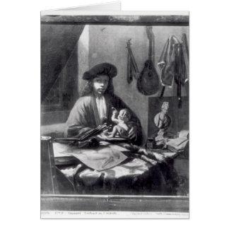 Cartes Portrait d'un jeune artiste