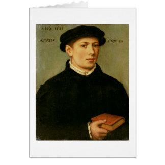 Cartes Portrait d'un jeune homme, 1528