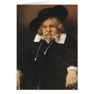 Cartes Portrait d'un vieil homme, 1667