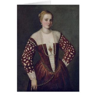 Cartes Portrait d'une femme