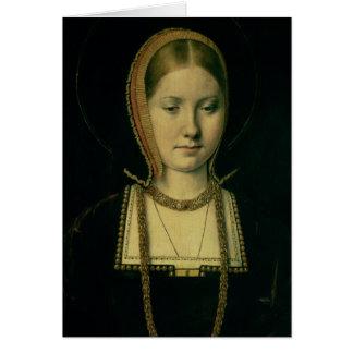 Cartes Portrait d'une femme, probablement Catherine