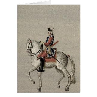 Cartes Portrait équestre de prince Charles