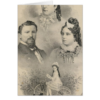 Cartes Portraits de famille de Curtiss et de Todd