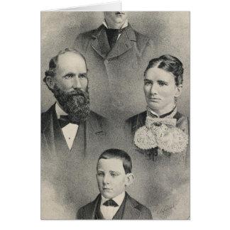 Cartes Portraits de famille de piments