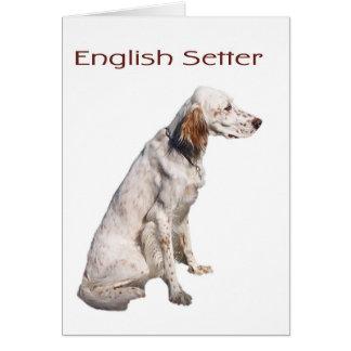 Cartes Poseur anglais