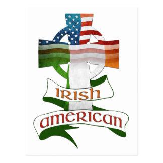 Cartes postales américaines irlandaises de croix c