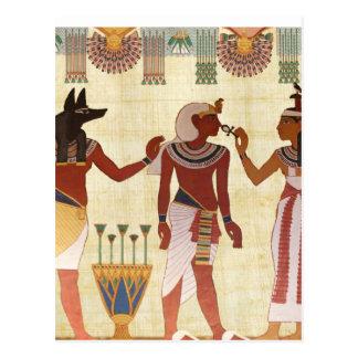 Cartes postales antiques et égyptiennes de style