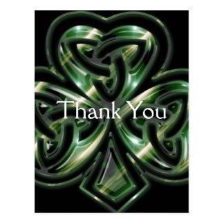 Cartes postales celtiques de Merci de la