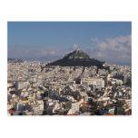 Cartes postales d'affranchissement d'Athènes Grèce