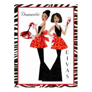 """Cartes postales d'Afro-américain """"de divas"""